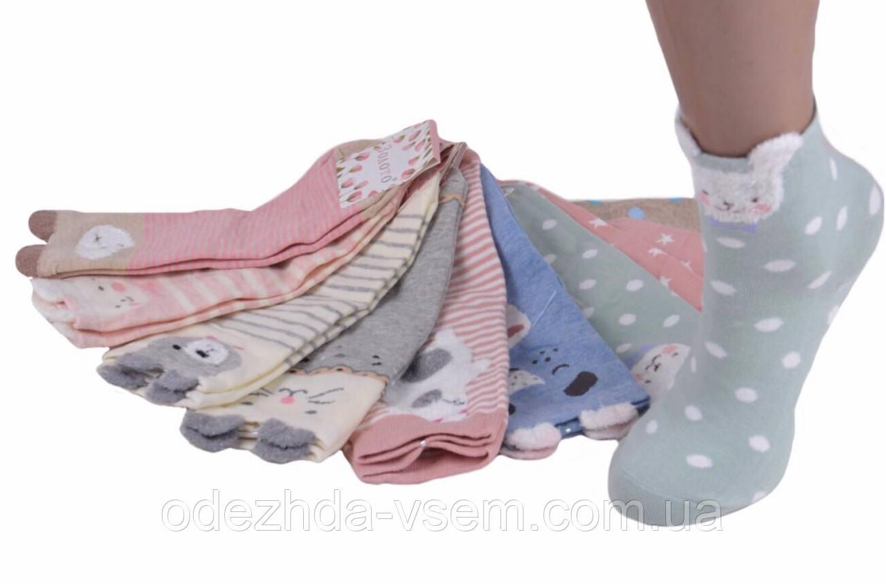 Веселые носочки с мордочками 35-39