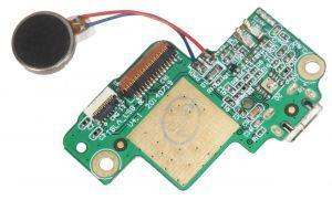 Плата зарядки для Lenovo S8-50, S8-50F, S8-50CL, с разъемом зарядки, с микрофоном, с виброзвонком