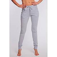 Спортивные штаны брюки женские обегающие с карманами и манжетами из трехнитки 42 44 46 48 50 Р