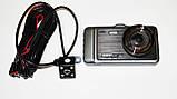 """DVR GT500 Full HD 4"""" сенсорний екран - з виносною камерою заднього виду, фото 2"""