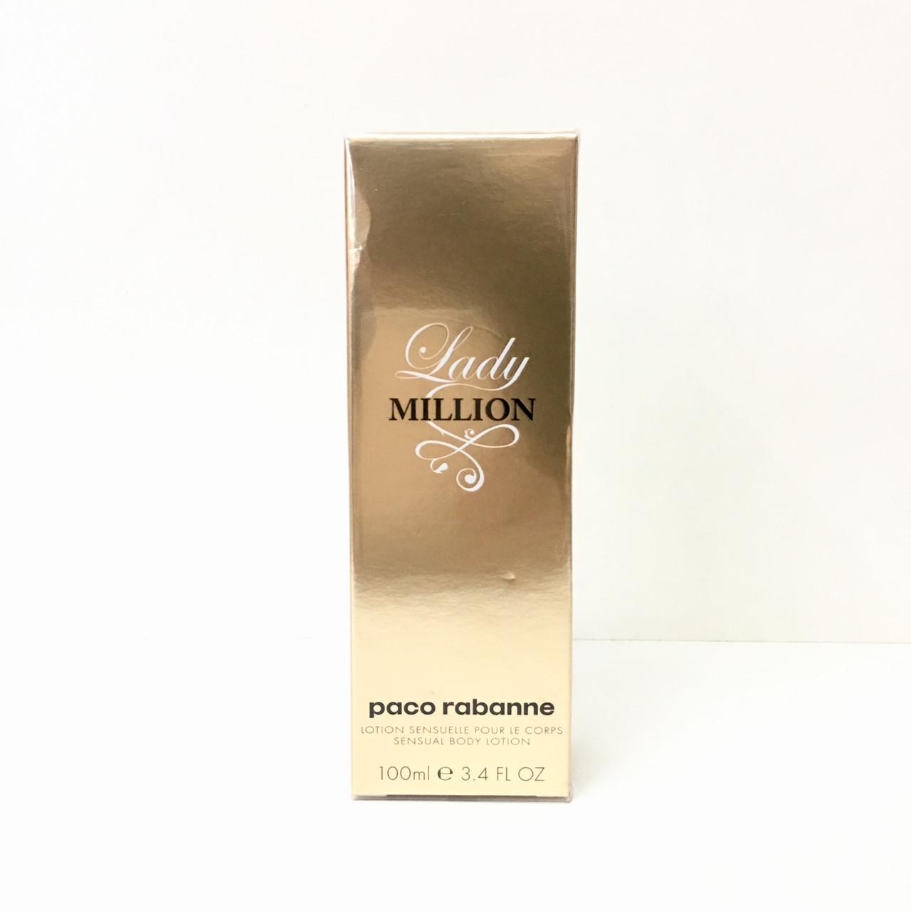 PACO RABANNE Lady Million (Пако Рабан Леді Мільйон) лосьйон для тіла 100ml