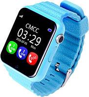 Детские GPS часы V7k Синие, фото 1