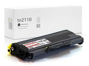 Картридж Brother TN2110 (TN-2110) совместимый, XL увеличенный ресурс (2.500 копий), аналог от Gravitone