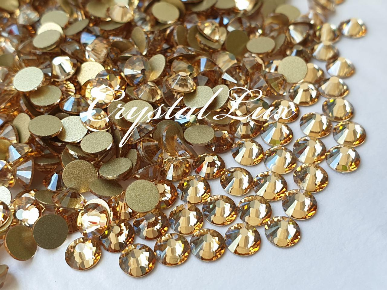 Стразы Lux ss16 Gold Shaddow (4.0mm) 100шт