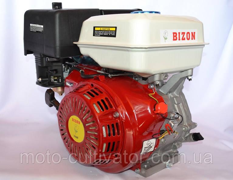 Двигатель бензиновый BIZON GX-390 188FE 13 л.с. без электростартера вал 25 мм шпонка