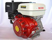Двигатель бензиновый BIZON GX-390 188FE 13 л.с. без электростартера вал 25 мм шпонка, фото 1