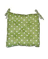 Подушка на стул Горох Олива