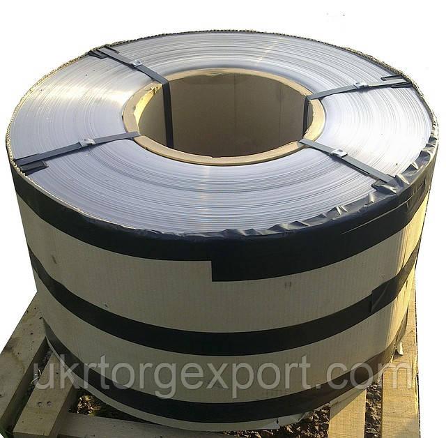 Нержавеющая стальная лента ( пр-во Германия ) 0,25мм*400мм материал: 1,4541 (AISI 321, 08Х18Н10Т) нагартовка