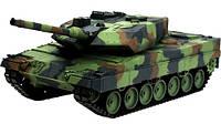 Танк р/у 2.4GHz 1:16 Heng Long Leopard II A6 в металле с пневмопушкой и дымом (HL3889-1PRO)