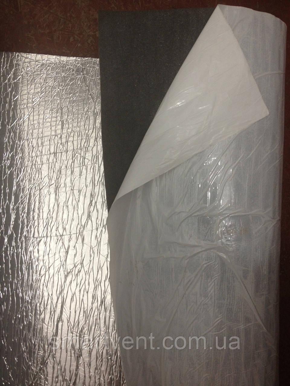 Самоклеющаяся изоляция ППЭ НХ 5 фольга