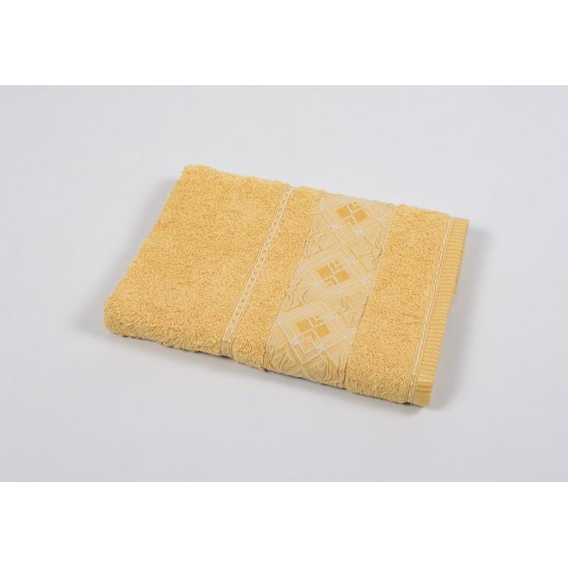 Полотенце махровое Binnur - Vip Cotton 07 70*140 желтый
