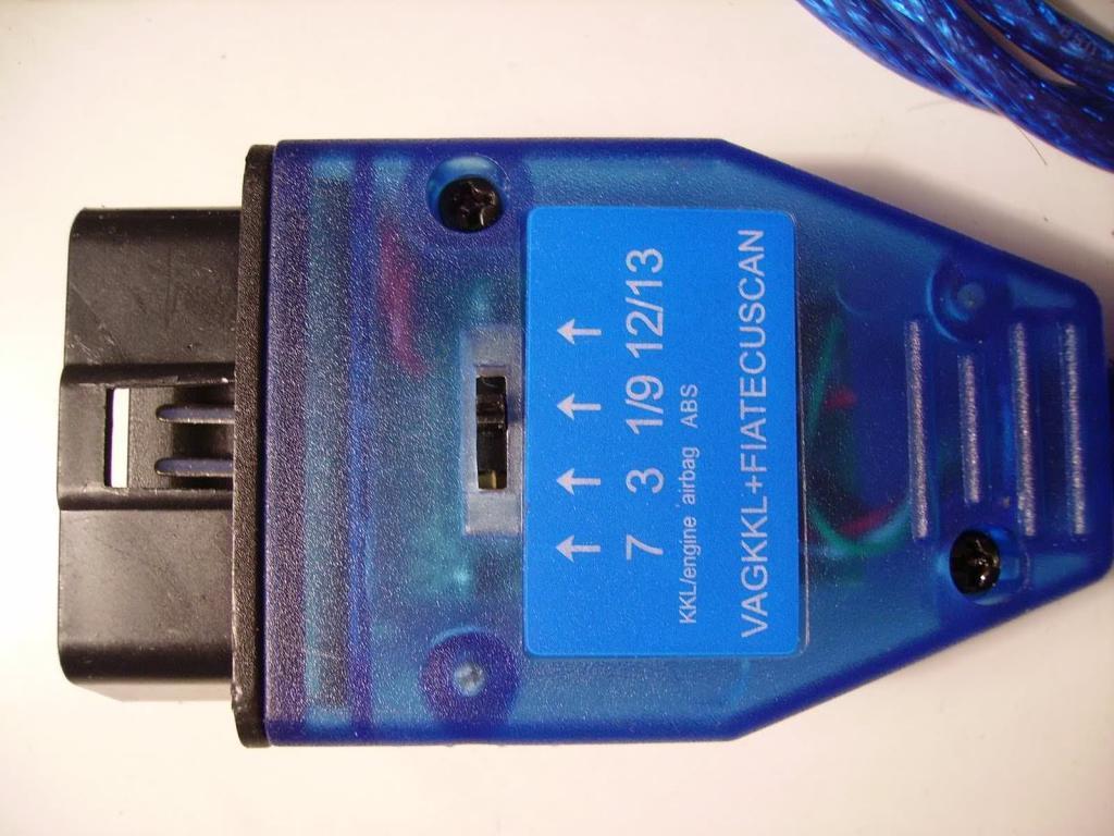 Автосканер VAG 409.1 FT232RL адаптер c переключателем линий (Диагностика ВАЗ, старые VW/Seat/Audi/Skoda)