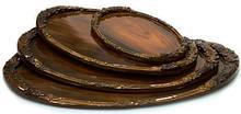 Подносы деревянные