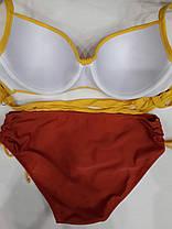 Купальник Жозі 58819 жовтий на 56 розмір, фото 3