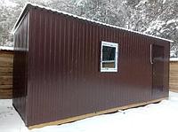 Бытовки строительные, киоски, павильоны, бытовки для дачи 6х2.4м