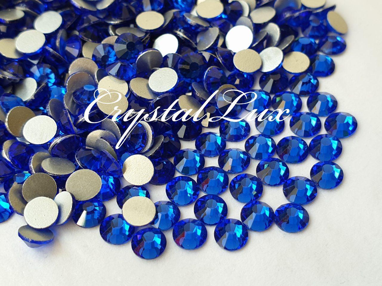 Стразы Lux ss16 Sapphire (4.0mm) 1440шт