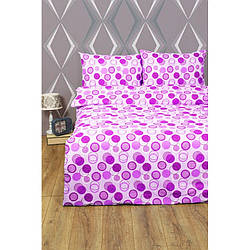 Постельное белье Lotus Ranforce - Erin розовый двуспальное