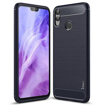 TPU чехол iPaky Slim Series для Huawei Honor 8X Max Синий