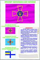 Стенд Прапор Збройних Сил України