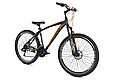 """Гірський велосипед CROSSRIDE """"MAD MAN"""" 27,5"""" з дисковими гальмами, Чорно-помаранчевий, фото 2"""