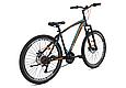 """Гірський велосипед CROSSRIDE """"MAD MAN"""" 27,5"""" з дисковими гальмами, Чорно-помаранчевий, фото 3"""
