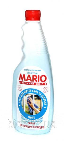 Засіб д/скла Mario (запаска) (500мл) АСОРТІ