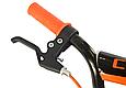"""Детский велосипед CROSSER ROCKY 16"""" с корзиной, багажником и боковыми колесами, Черно-оранжевый, фото 6"""