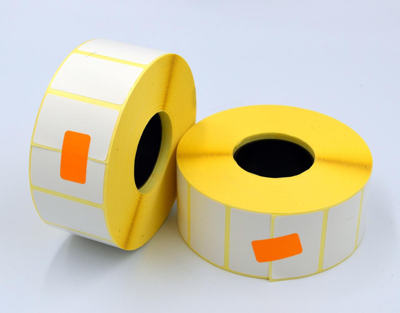 Этикетка SemiGloss полуглянец 40x25 мм 2000 этикеток прямоугольная 10 шт. White (SG40252000V40)