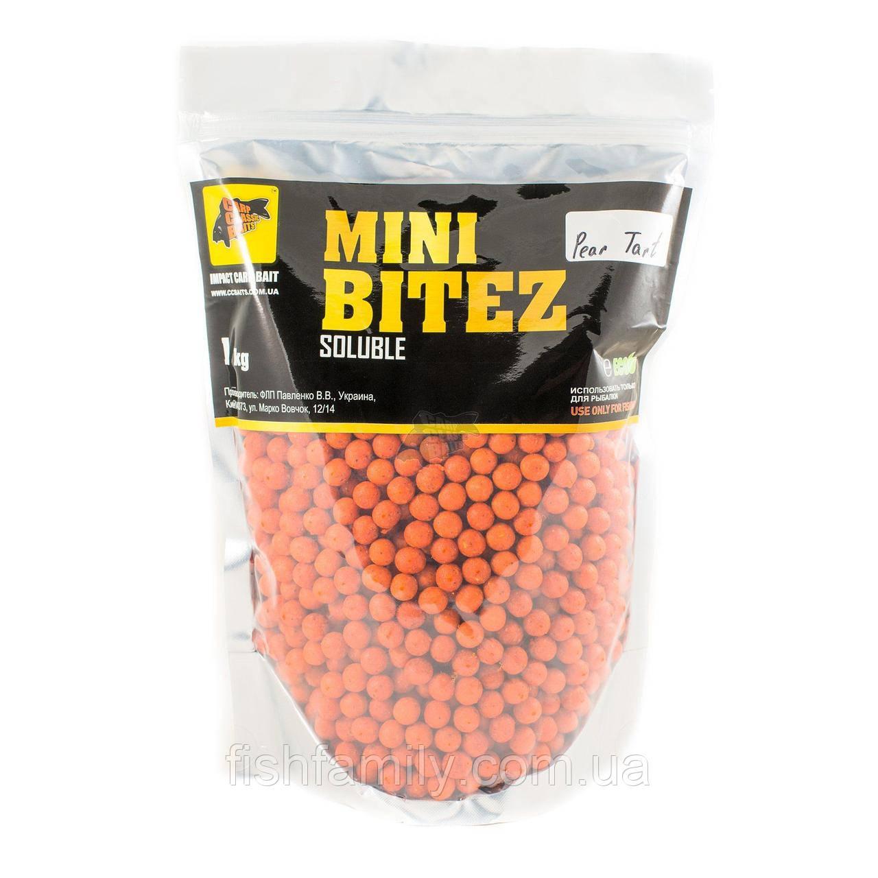 Пылящие Бойлы Mini Bitez Pear Tart [Кислая Груша], 10, 1000