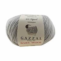 Gazzal Baby Wool № 817 светло-серый
