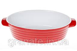 Форма для выпечки жаропрочная, керамика, цвет: какао с молоком 28х17,5х 7,5 см