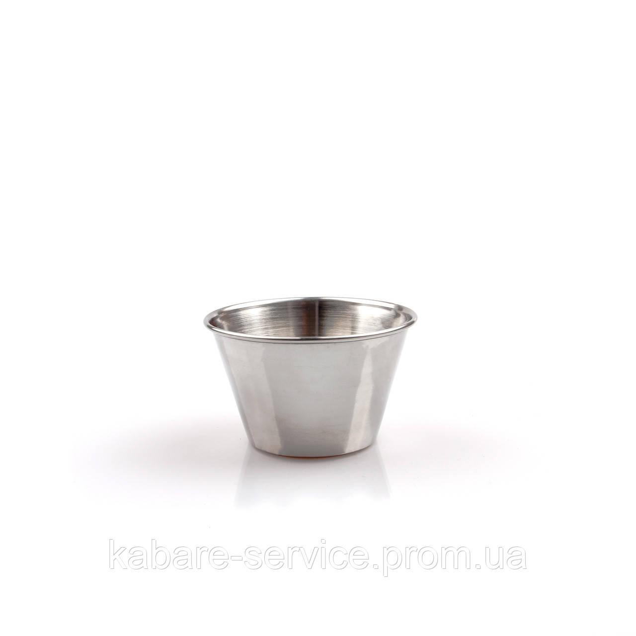 Соусник 75 мл (нержавеющая сталь)