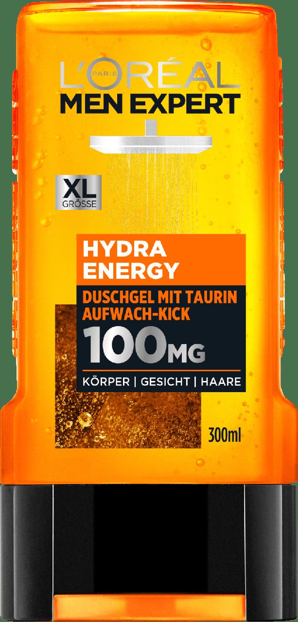 Гель для душа L'ORÉAL Men Expert Hydra Energy, 300 мл.