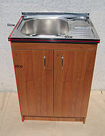 Мойка 60х50 с тумбой для кухни (глубокая), фото 1