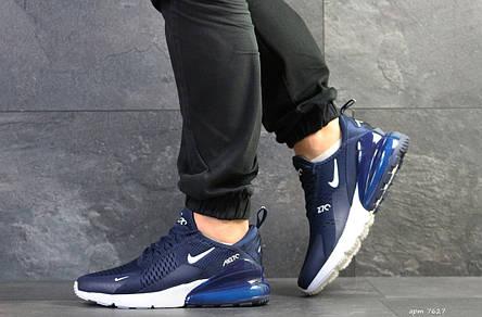 Мужские кроссовки Nike Air Max 270,сетка,темно синие 44р, фото 2