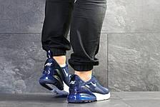 Мужские кроссовки Nike Air Max 270,сетка,темно синие 44р, фото 3