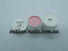 Гель-краска  для ногтей UK.Nail №02 пудра, 7 грамм