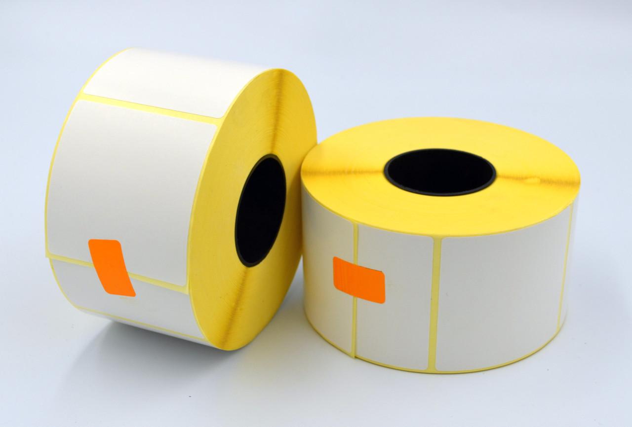 Этикетка SemiGloss полуглянец 58x60 мм 1000 этикеток прямоугольная 10 шт. White (SG58601000V40)
