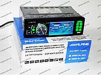 "Автомагнитола Alpine 3612 Green - 3,6"" TFT Video экран -Divx/mp4/mp3 USB+SD, фото 1"