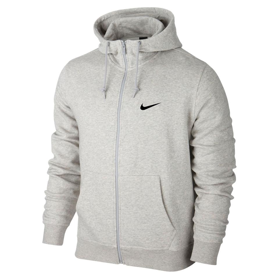 be9f8c8c Толстовка Nike, серая, на змейке - Гипермаркет спорттоваров