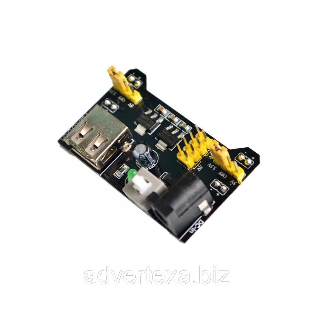 Модуль питания макетных плат MB102 3.3 5В Arduino