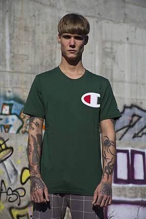 Мужская футболка Champion Green ( Реплика ), фото 2
