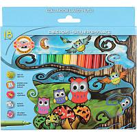 Фломастеры школьные набор 18 цветов Совята koh-i-noor 1012СВ/18 картонная упаковка