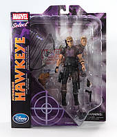 Diamond Select Toys Marvel Select Hawkeye Marvel, Соколиный Глаз Марвел, фото 1