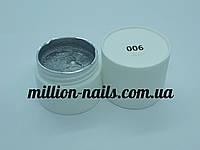 Гель-краска  для ногтей UK.Nail №06 цвет серебро 7 грамм, фото 1