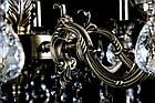 Классическая люстра-свеча на 8 лампочек СветМира VL-442/8 (античная бронза), фото 3