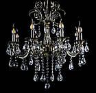 Классическая люстра-свеча на 8 лампочек СветМира VL-442/8 (античная бронза), фото 2