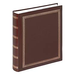 Альбом для фото 29*32 на 100 страниц Walther Das Schicke Dicke (коричневый)