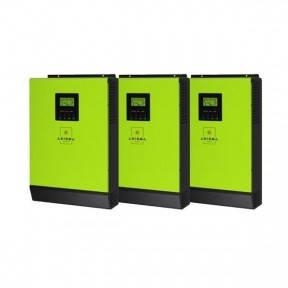 Інвертори гібридні 12кВт AXIOMA energy - ISGRID 4000 3 шт по 4кВт, фото 2