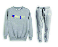 Мужской спортивный костюм, чоловічий костюм (свитшот+штаны) Champion S543, Реплика